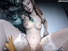 [HMV] 3d Zelda Midna Ilia Hentai Video Game Music Compilation