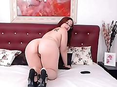 BBW Booty &amp_ Heels more videos on - Boobspressing.com
