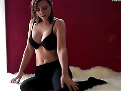 52.Lingerie fetish video