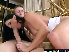 Superb Mature Lady Ride Huge Cock (india summer) clip-05