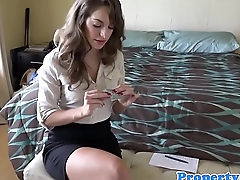 Fetish pov realtor on her knees