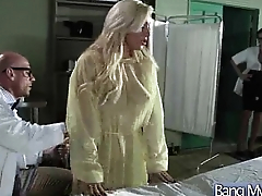Sex Between Doctor And Hot Slut Patient (bonnie mia) clip-05