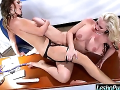 Punish Sex Tape With Disappointing Wild Lesbians vid-19