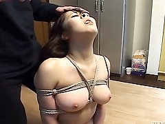 Subtitled Japanese BDSM hot wax play in all directions voluptuous amateur