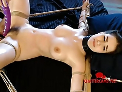 Teen BDSM Tied Up Spanked Slapped Anal Toyed - Chattercams.net