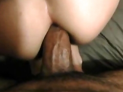 Staggering Homemade Anal