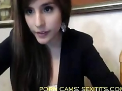 Sexi girl with big ass masturbate and make a show on tap webcam - sexitits.com
