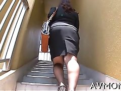 Mother i would like to fuck dame turns herself on