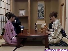 Milf nearby heats Mio Okazaki enjoys a wild fuck