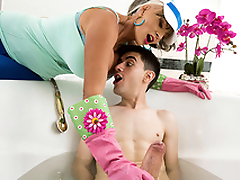 Plow-Her Stroller Starring Sally D'Angelo and Jordi - Milfs Like It Big HD