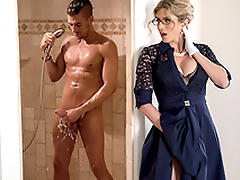 Stuck-Up Stepmom -Naked  Cory Chase In slay rub elbows with porn scene