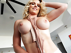 Cumming Of Stage 40+ - Cory Chase In the porn scene