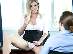 Down in the mouth Milf On Dirty Work -  Cory Chase In the porn scene