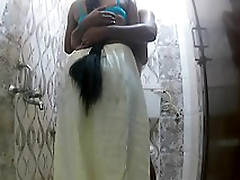 Indian wife fucking neighbor in bathroom