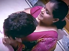 Beamy Indian / Desi Lady with younger man