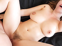 Stunning Lena Paul gets her pussy drilled while her tits bounce