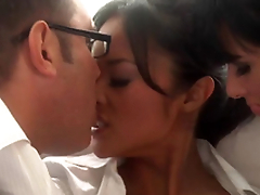 Beautiful Oriental and Tory Lane Sharing Some Man taproom