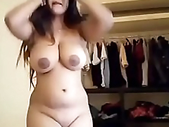 Big Milky Special Desi Swain Strips Removing Brassiere and Penty For Boyfriend