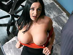 Emergency Dick Amusement Featuring Audrey Bitoni - Brazzers HD