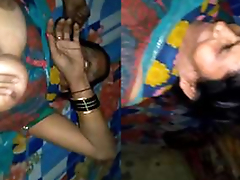 Today Exclusive- Desi Aunty Sex With Young Guy While Hubby Not Abode Must watch