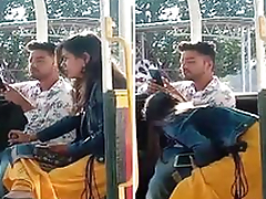 Today Exclusive- Super Hawt look Desi Girl Blowjob on public place