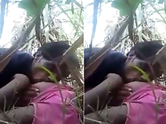 Desi Village Lover Boob Sucking and Outdoor Sex