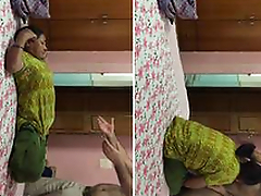 Today Exclusive- Desi MAid Sex With House Owner part 3