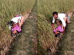 Today Exclusive-Desi Lover Outdoor Fucking Record By Village Guy