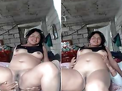 Today Exclusive- Desi Cheating Wife Ridding Hubby Friend  Dick