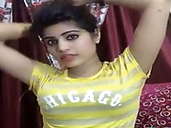 Beautiful desi girl tight boobs on live cam