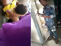 Desi Couple Pussy Licking And Fucking Inside Toilet of Train Secretly Recorded by Co-passangers