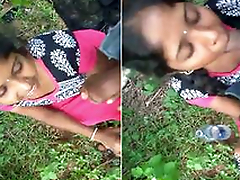 Telugu Chick Alfresco Blowjob