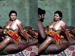 Desi Village Bhabhi Love Ridding Hubby Locate