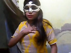 Desi XXX - Charming Indian Village Girl Identically Natural Tits