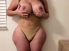 Getting seduced by my girlfriend's slutty thick MILF XXX mom