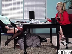 Hot Girl (krissy lynn) With Big Juggs Banged In Office movie-24