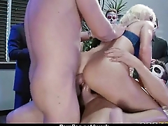 MILF Fucks Men While Husband Works 8
