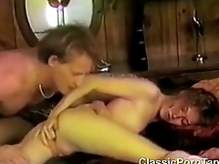 Cute girl seducing guy with an increment of hot blowjob