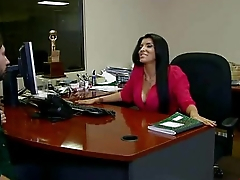 Amazing Secretary Fucked In Office