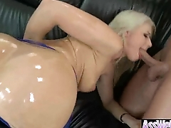 Curvy Ass Girl (anikka albrite) Get Oiled And Anal Hard Sex movie-08