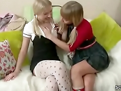 Sister show say no to Step-sister how to Fuck with Strap-On