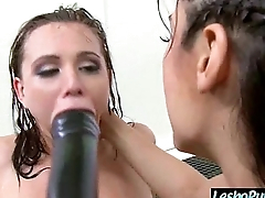 Lovely  Girl (aidra reena) Get Sex Toy Punish From Mean Lez movie-05
