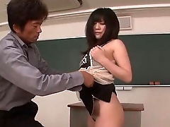 Kyoka Mizusawa fucke by her teacher in slutty energy